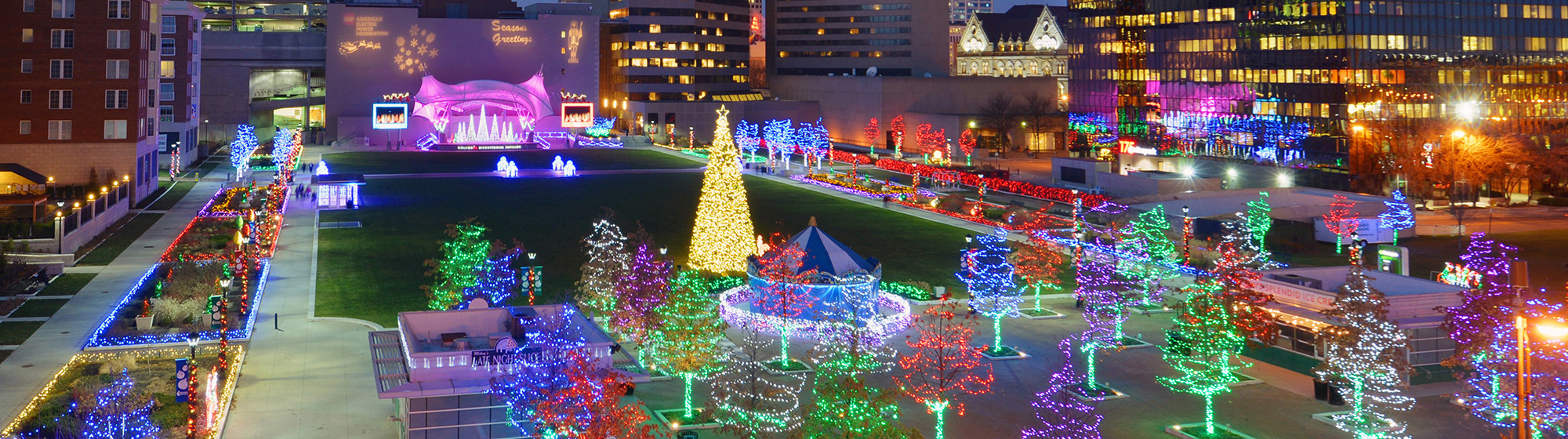 Downtown Holiday Lights
