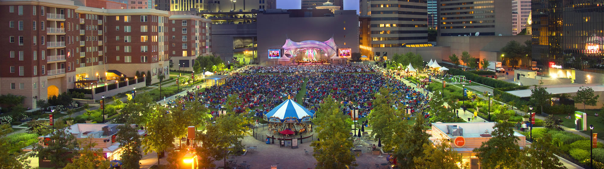 Columbus Commons - Event space and park located in downtown columbus, ohio